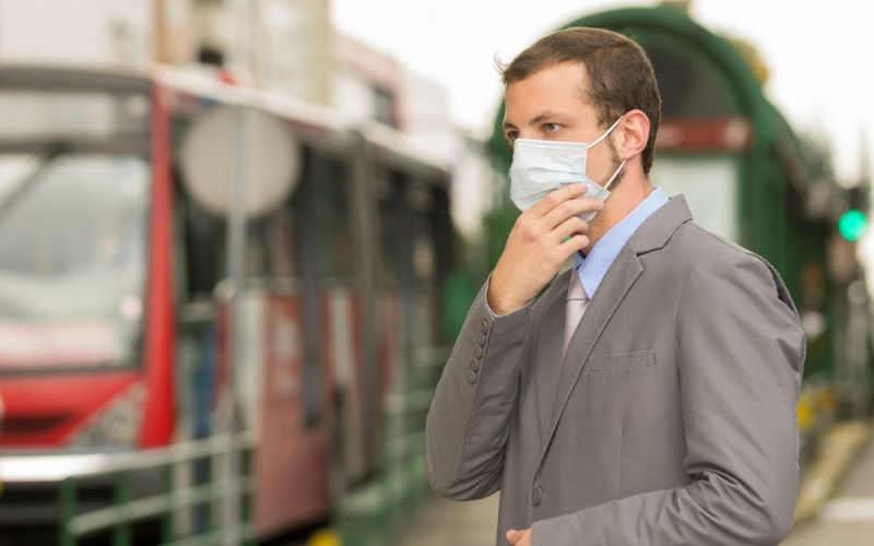 Contaminación en ciudad