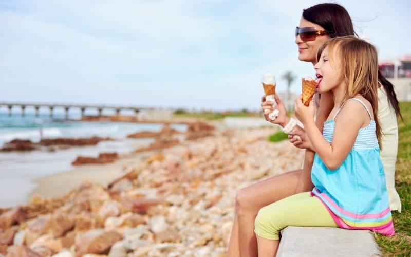 Atención a las alergias y los helados en verano