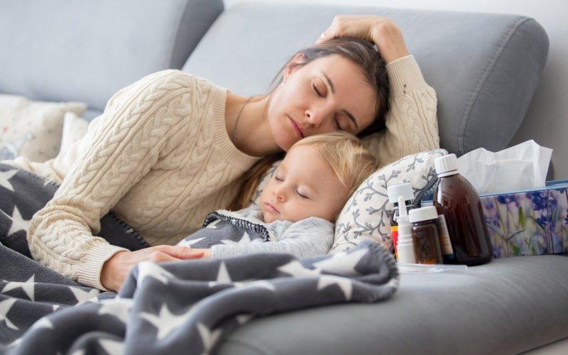 Laringitis y bronquiolitis en niños