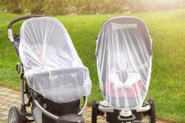 Carritos de bebé con mosquitera